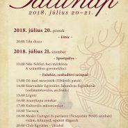 Németbányai falunap programja