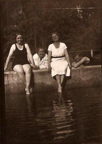 Üdülotelepi medence 1932