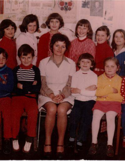 1976 Utolsó kép az iskola bezárás előtti hónapban