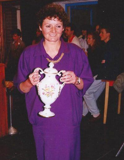 1992-Harmadszor is elnyertük a megye legjobb nemzetiségi gyermektáncegyüttes címet