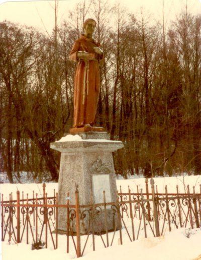 A szent Antal szobor Lovasi Mihály-Punk Rozália