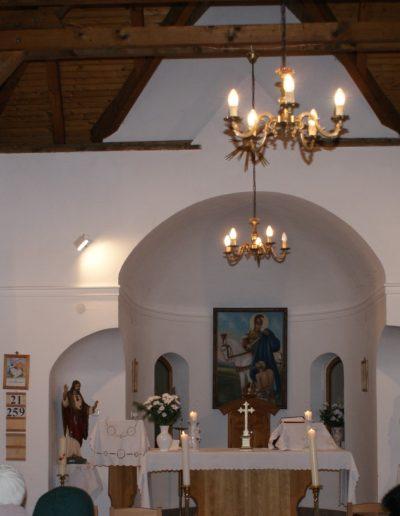 Kápolnabelső