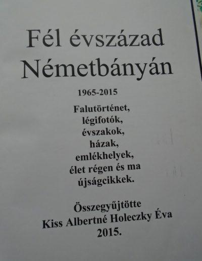 Fél évszázad Németbányán
