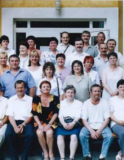Egykori németbányai iskolásokkal 2005ben