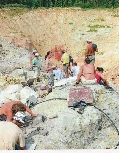 Iharkút - dinoszaurusz leletek keresése