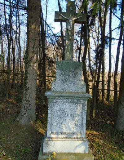 Iharkúti temetői kereszt.