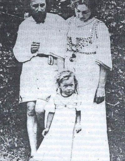 Nagy Sándor és családja