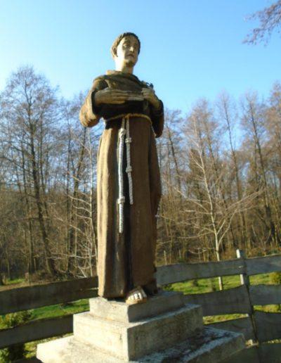 Szt. Antal szobor