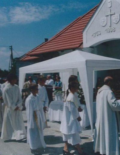 Templomavatás 1998-ban