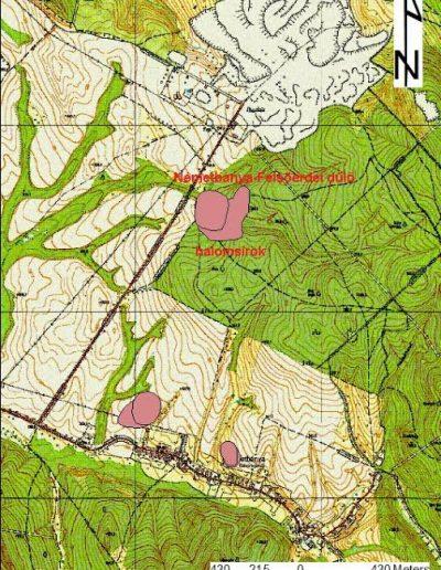 bronzkori Térkép
