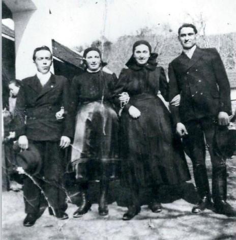 A Kungl házaspár esküvője 1940-ben