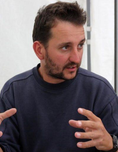 Dr. Ősi Attila paleontológus, kutatásvezető