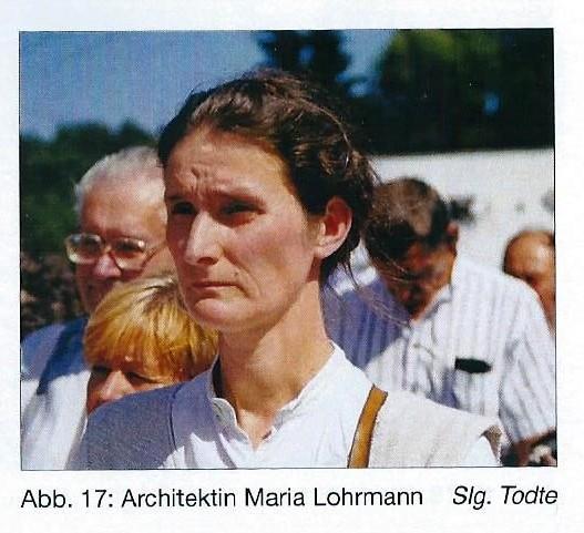 Lohrmann Mária a kápolna tervezője