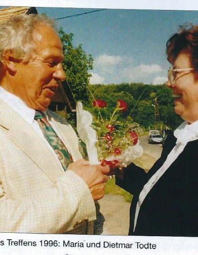Venzel Mária és férje Dieter Todte