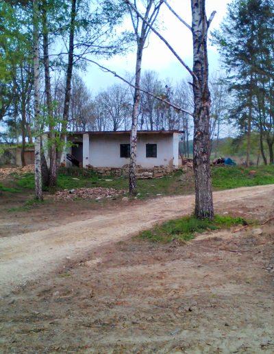 Bontás alatt az egykori erdészeti központ