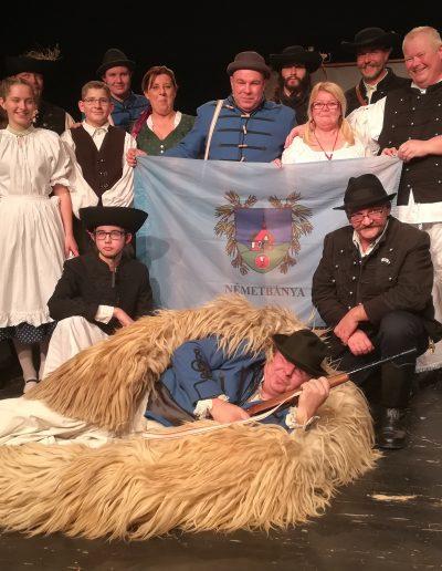 A Nemzeti színpadán a betyár színjátszók