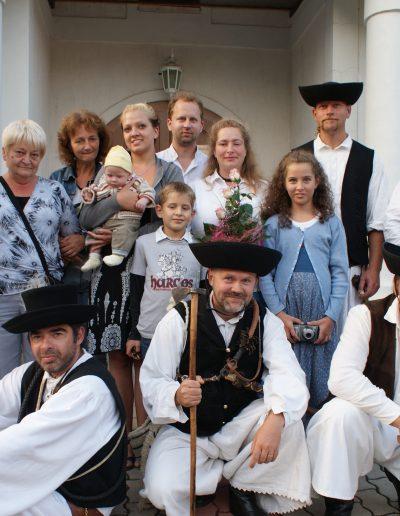 Betyáresküvő Berhidaiéknál